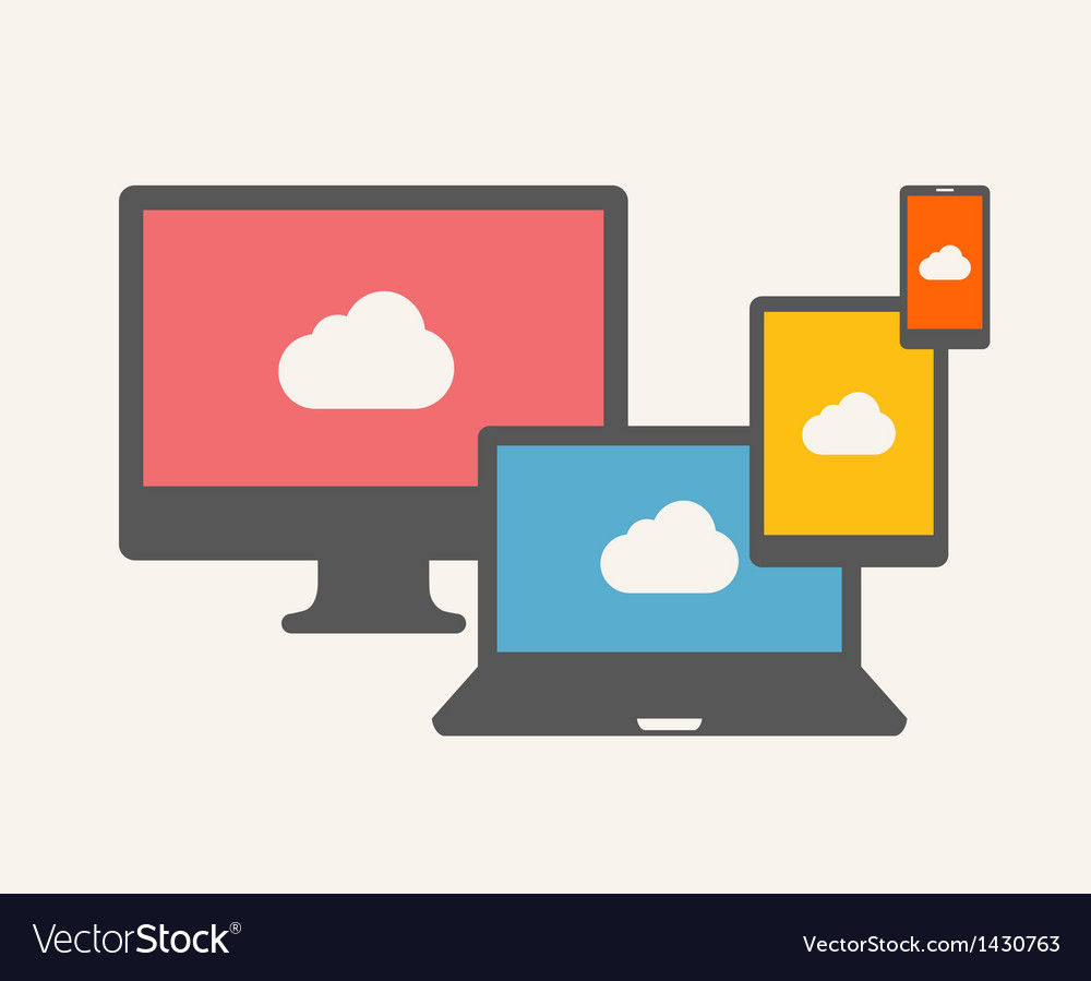 Cloud service vector