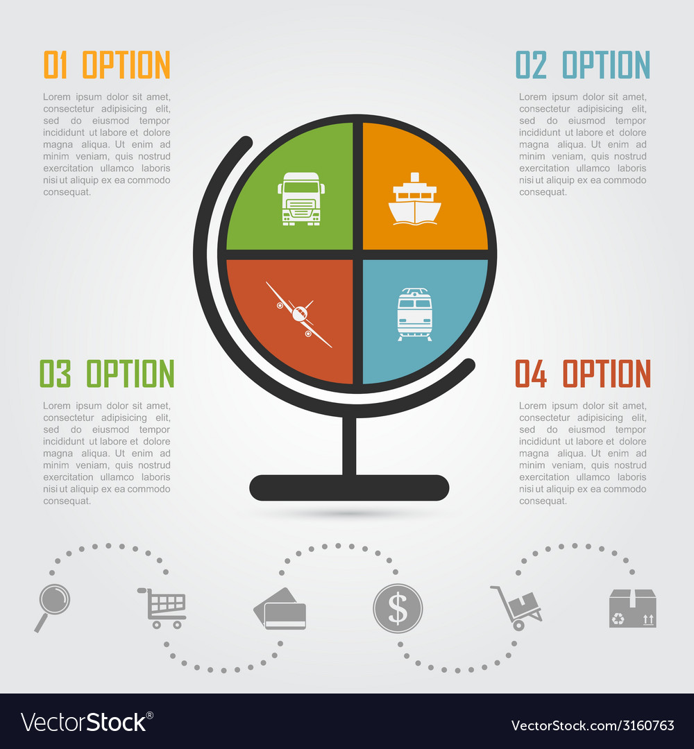 E commerce infographic 5 vector