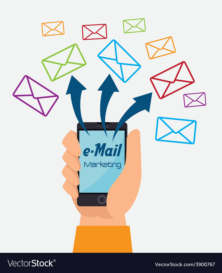 Email design vector