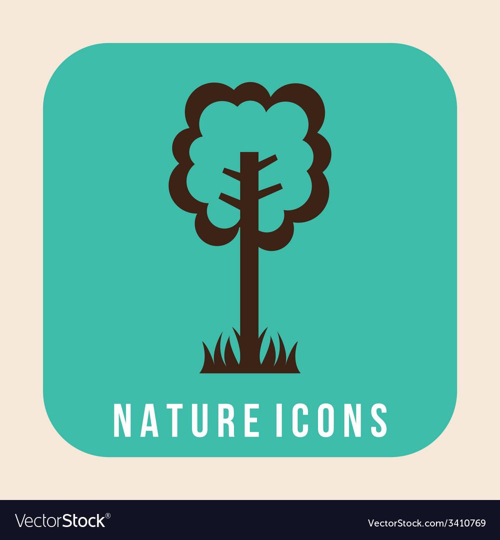Nature design vector