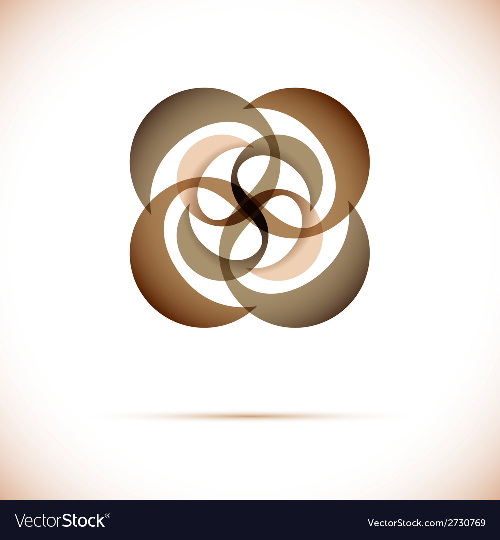 Sphere abstract design template business vector