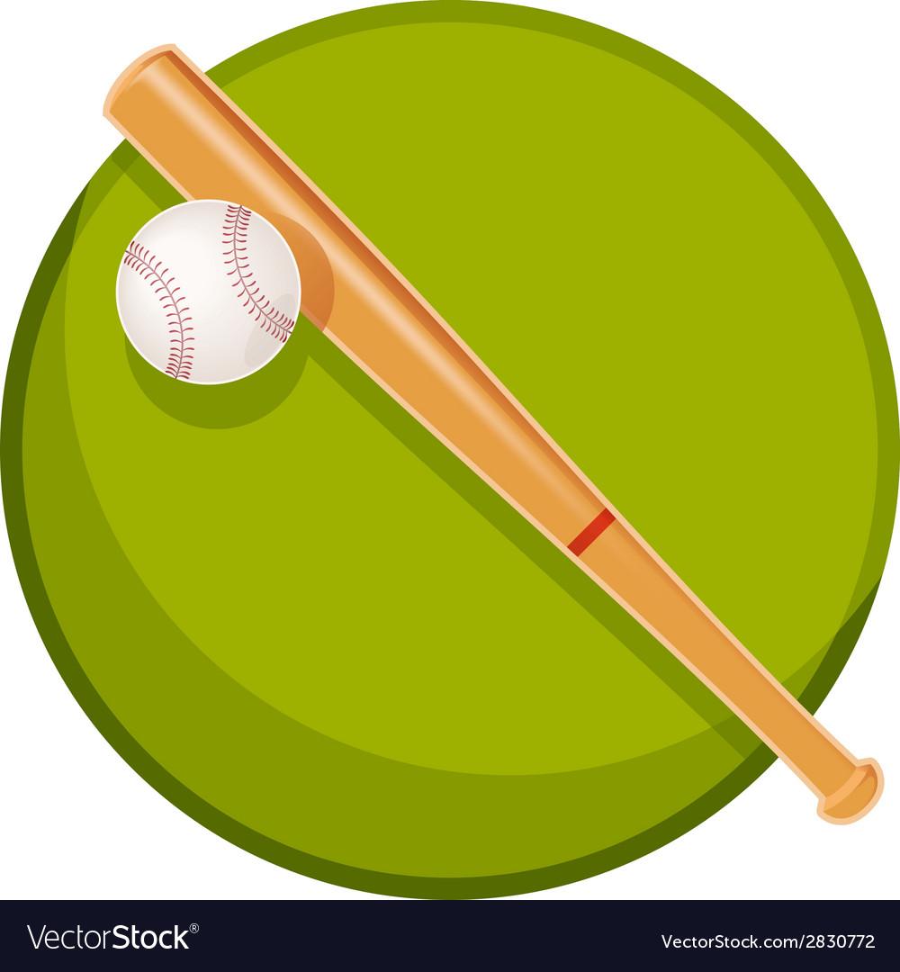 Baseball stuff vector