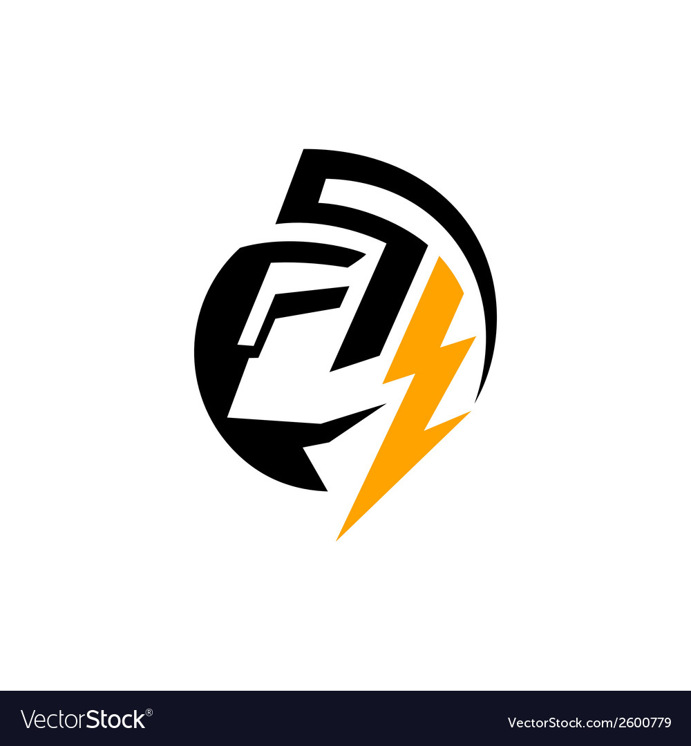 God electricity sign vector