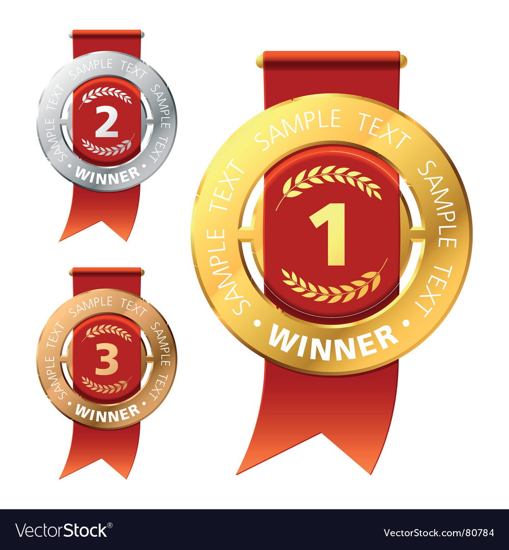 Awards vector