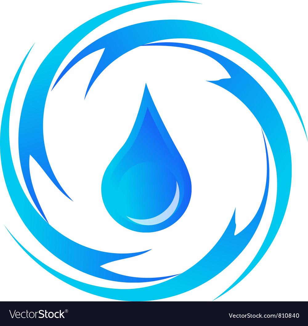 Water-drop vector