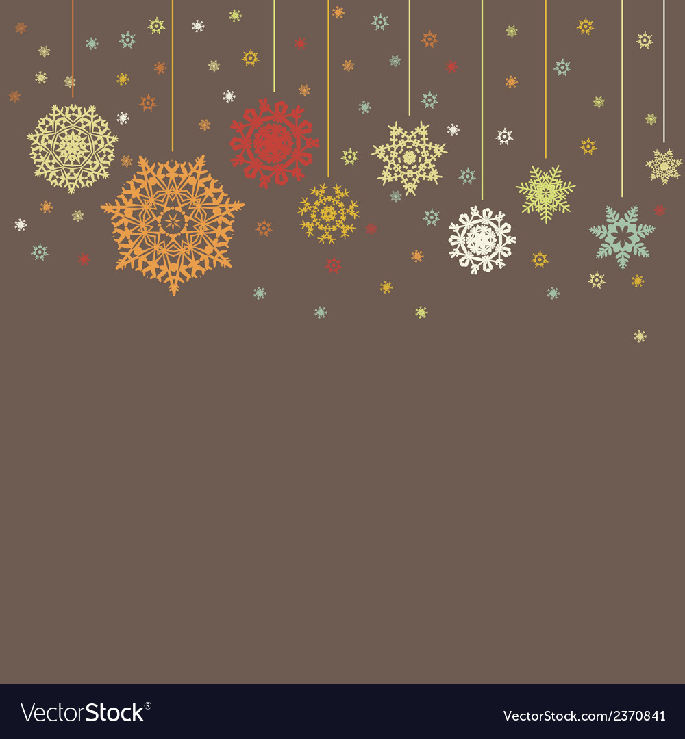 Design for xmas card background eps 8 vector