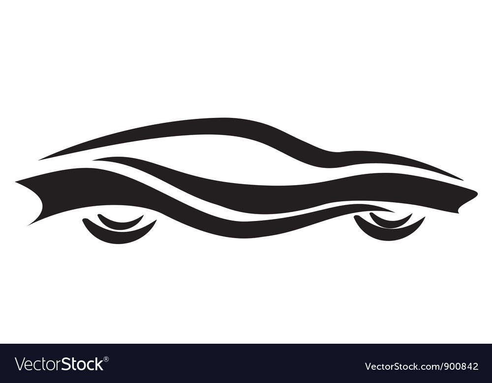 Tattoo car vector