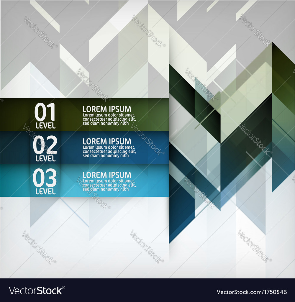 Modern layout design vector
