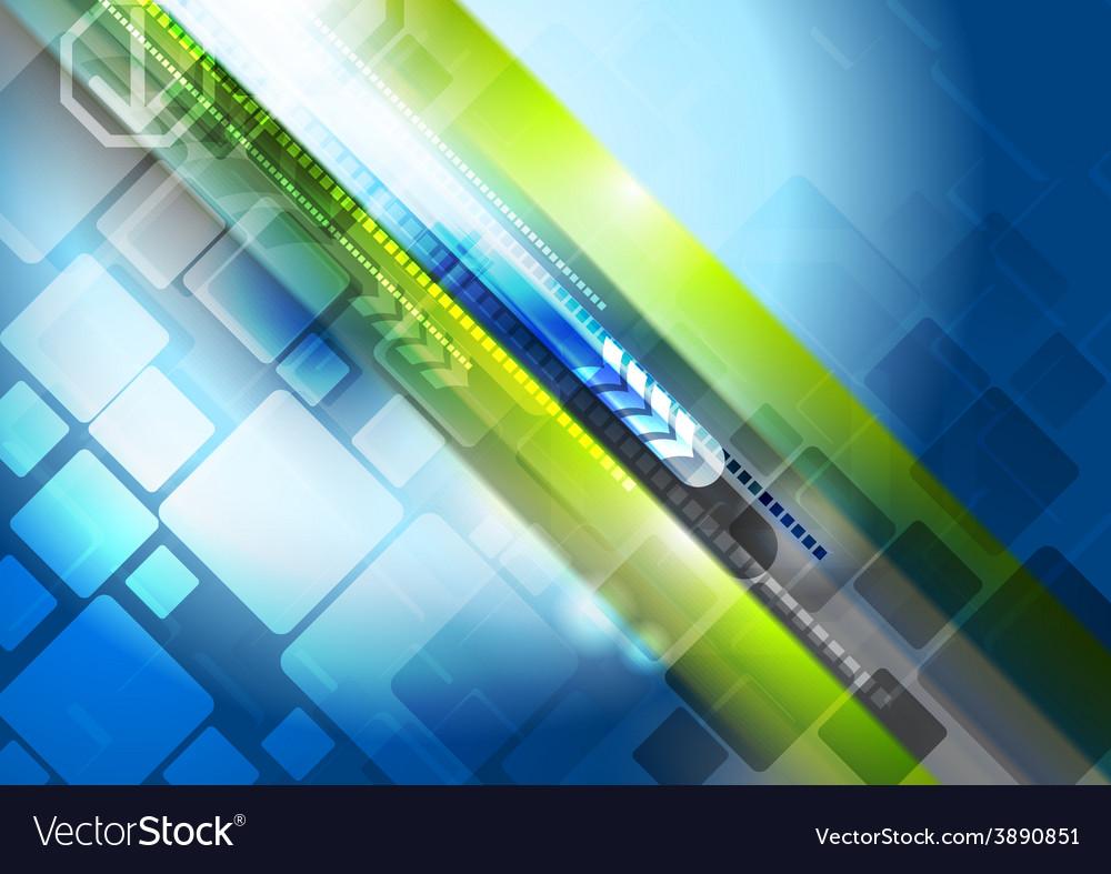 Abstract shine hi-tech background vector