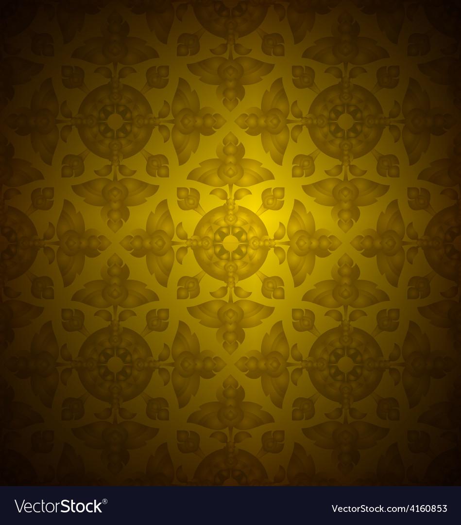 Thai pattern vector