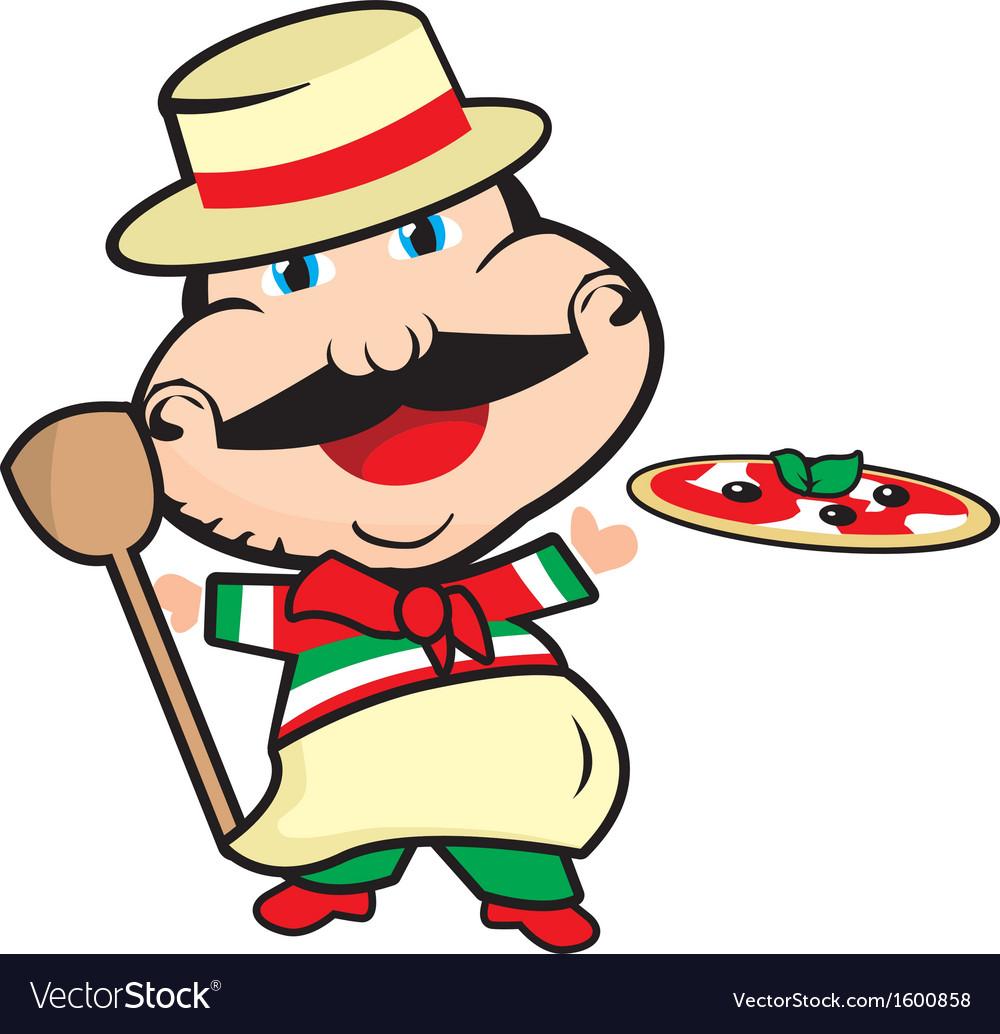 Pizzaiolo vector