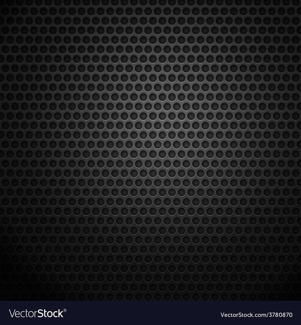 Dark metal cell background vector
