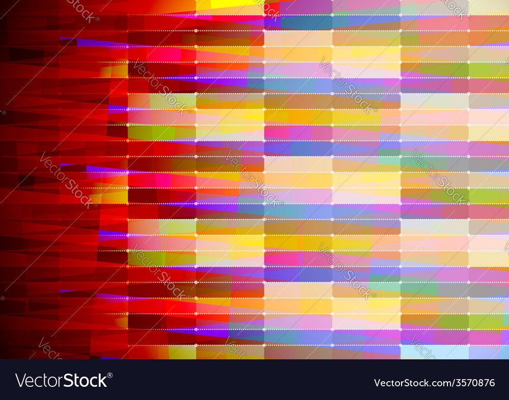 Abstract geometric background with red edge vector