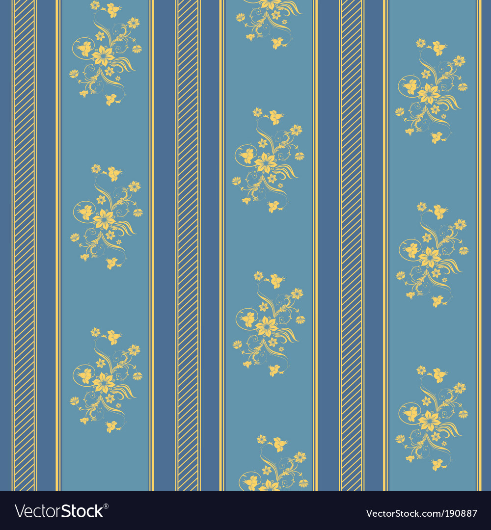 Texture stripped blue and gold vector
