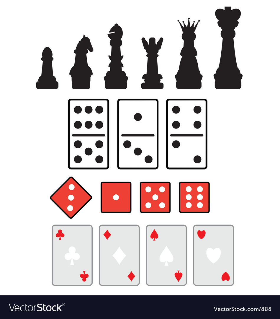 Game elements vector
