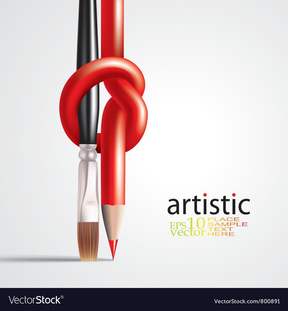 Art concept vector