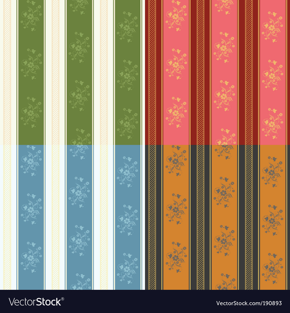 Texture stripped set vector