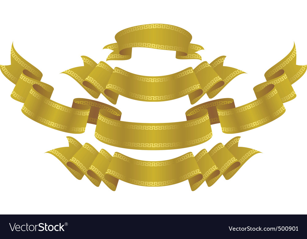 Royal gold vector
