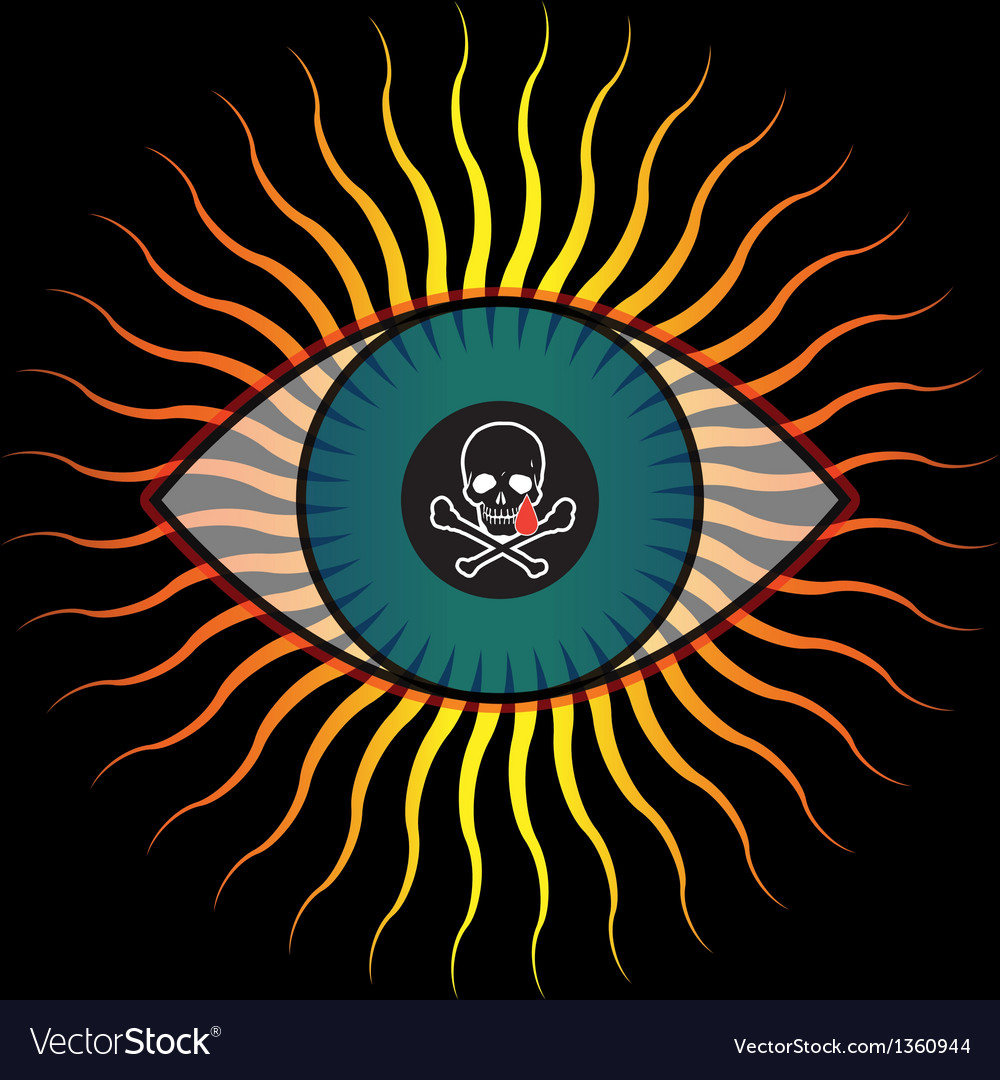 Evil eye vector