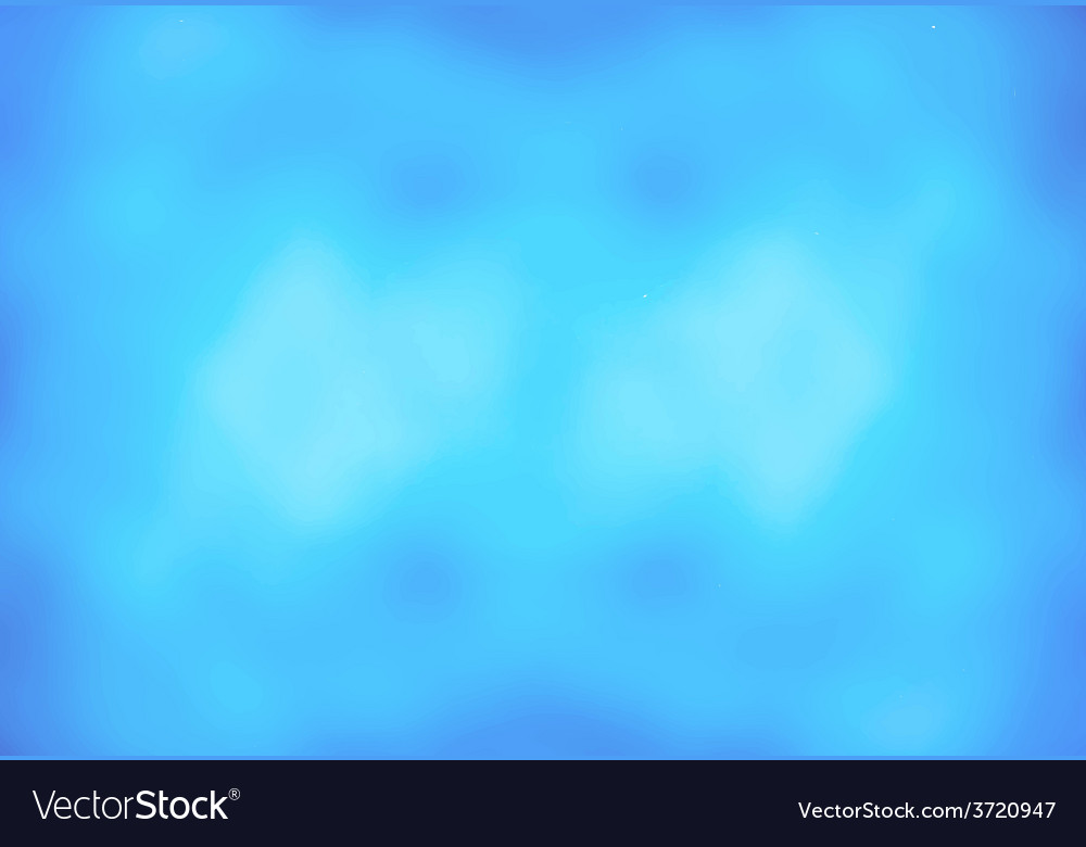Abstract background with blue defocused vector