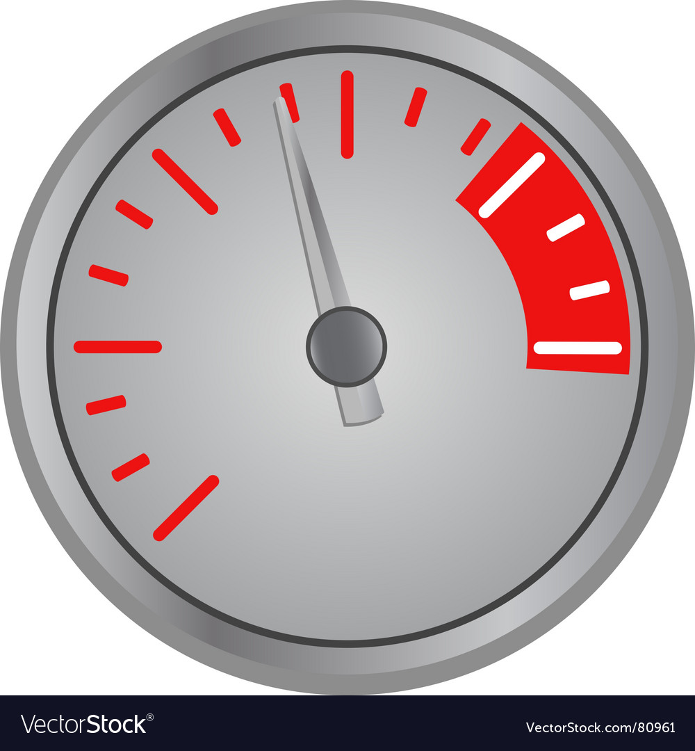 Speed gage vector