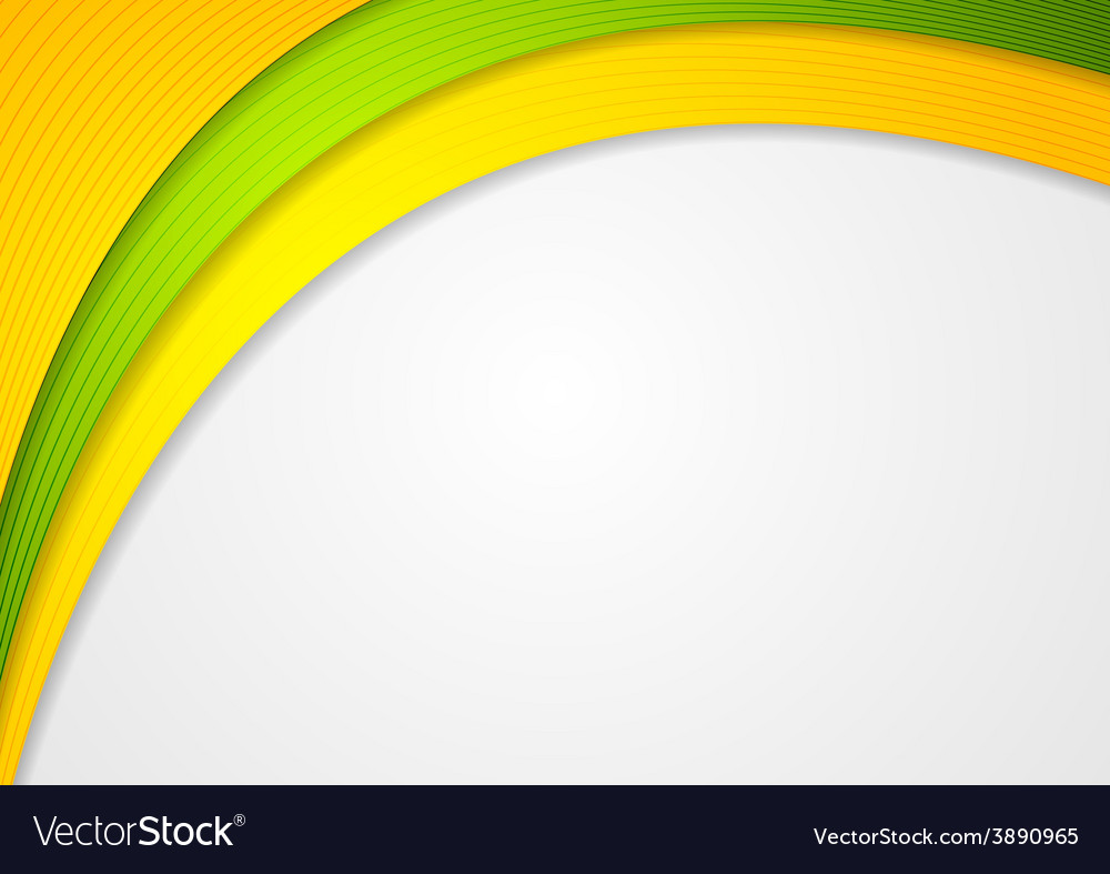 Abstract colorful waves elegant background vector