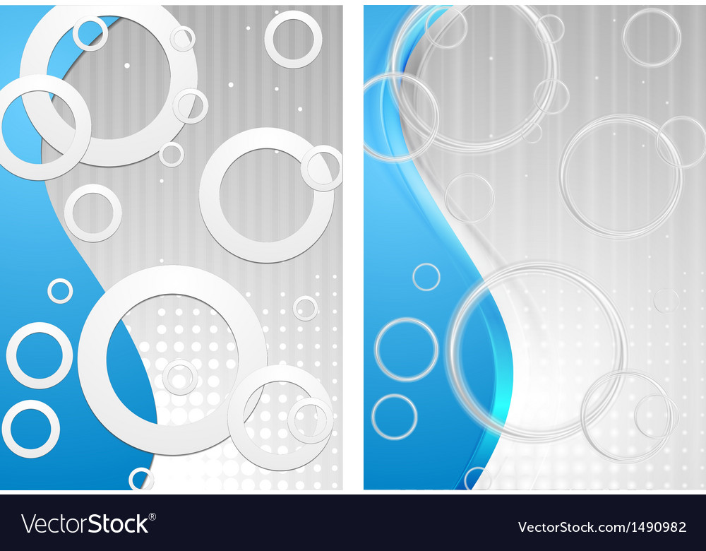 Old simple style and smooth modern style vector