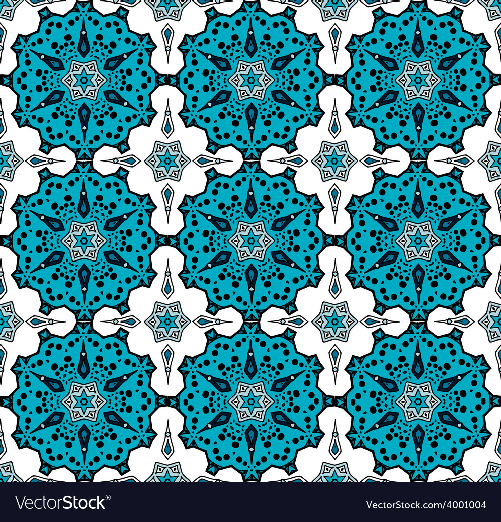 Pattern in turkish style vector