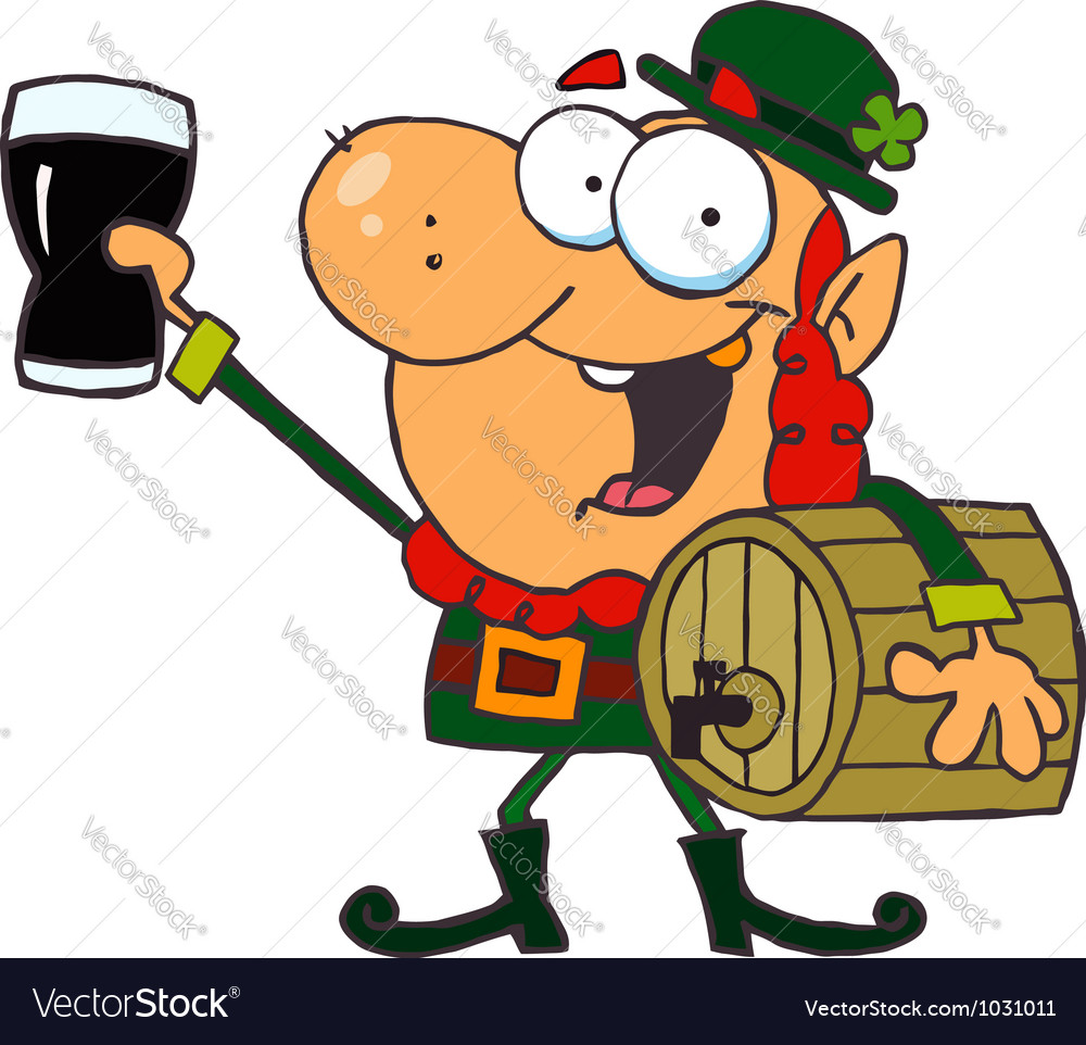 Lucky leprechaun vector