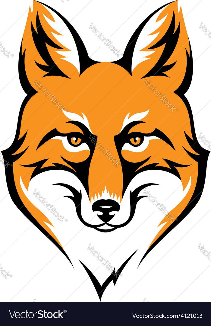 Fox color vector