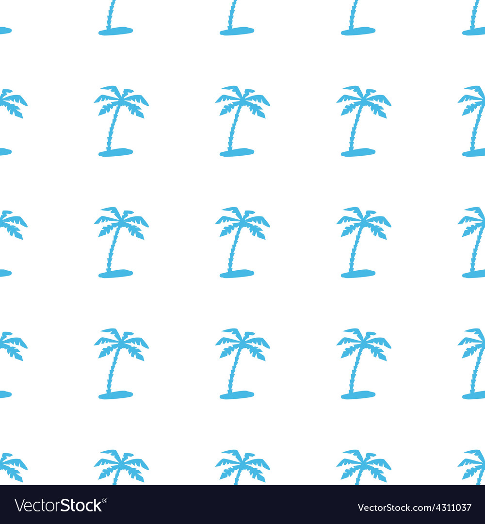 Unique island seamless pattern vector