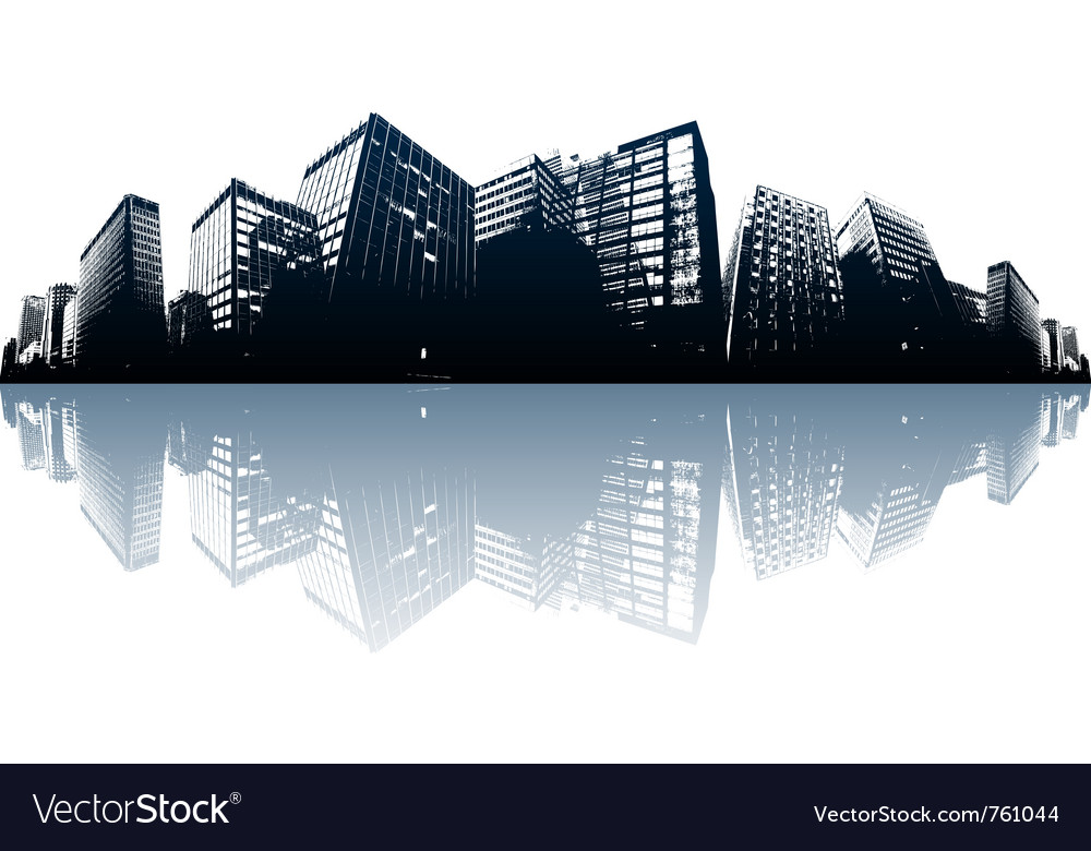 City skyline vector