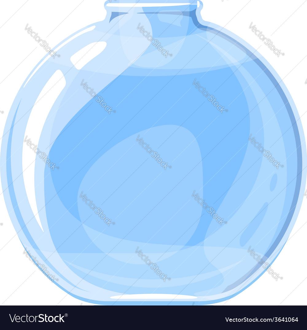 Empty elixir bottle vector