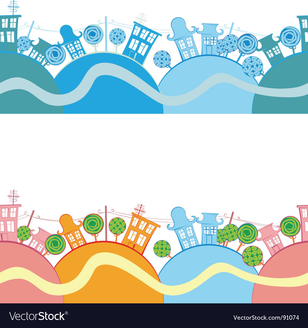Road seamless background vector
