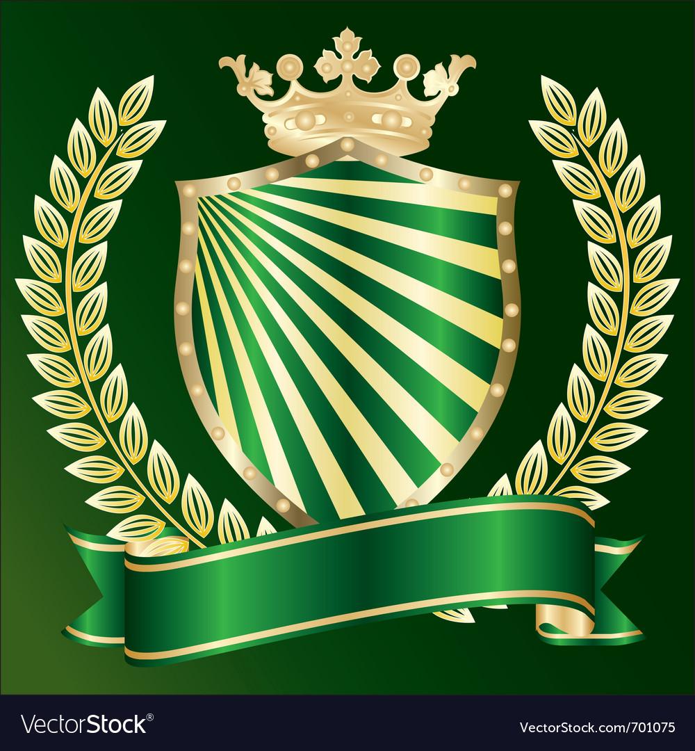 Heraldic symbol vector