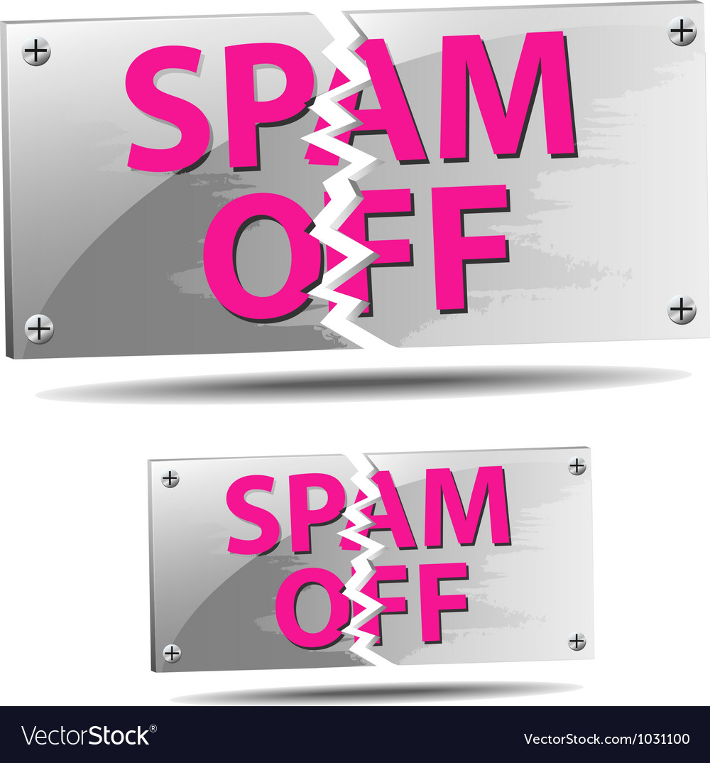 Spam off label vector