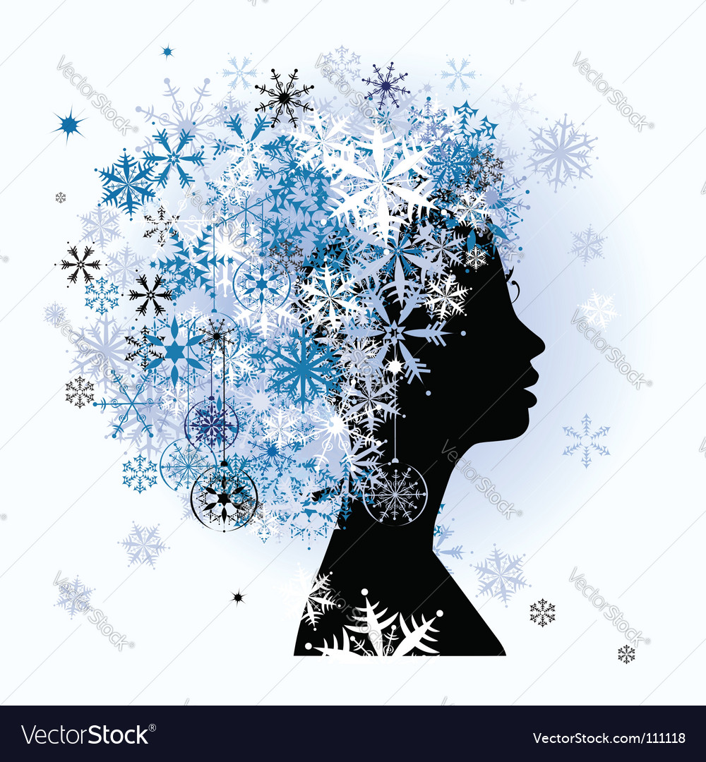 Winter season vector