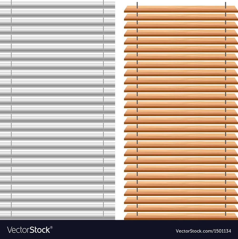 Blinds set vector