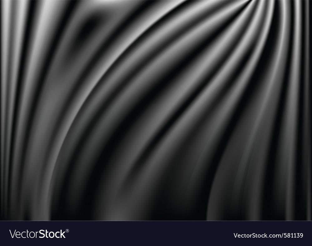 Satin curtain background vector