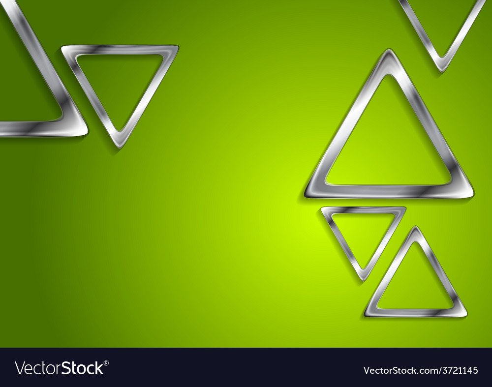 Abstract tech metallic elements vector
