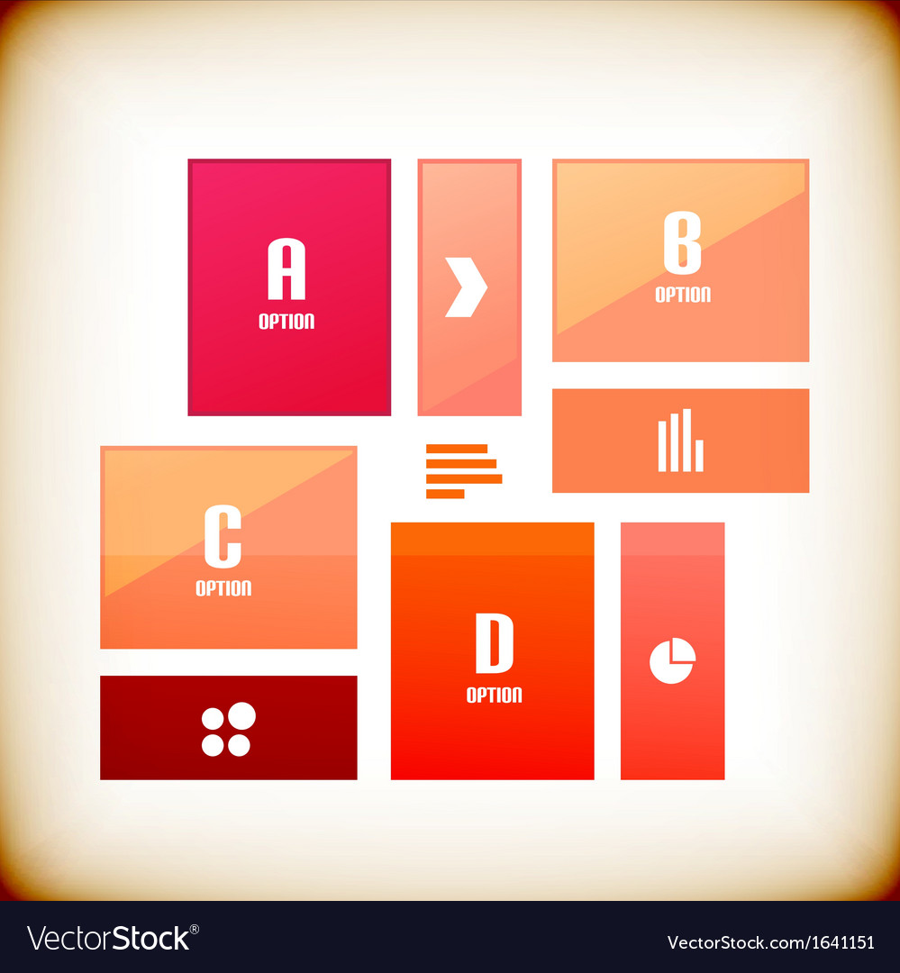 Modern square business banner design template vector