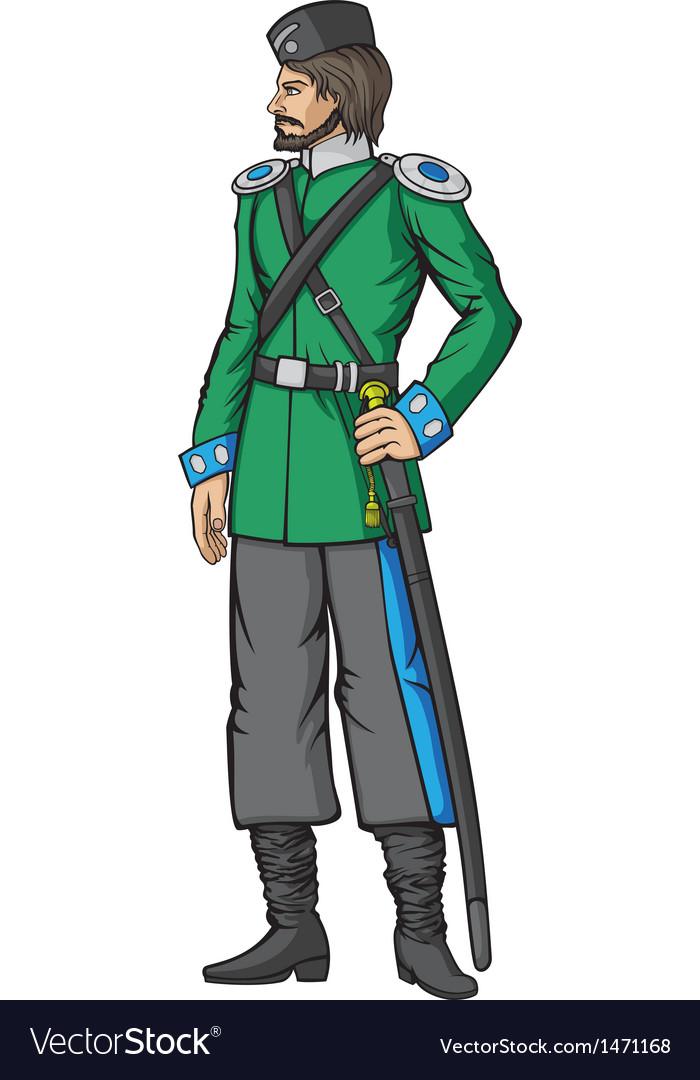 Cossack vector