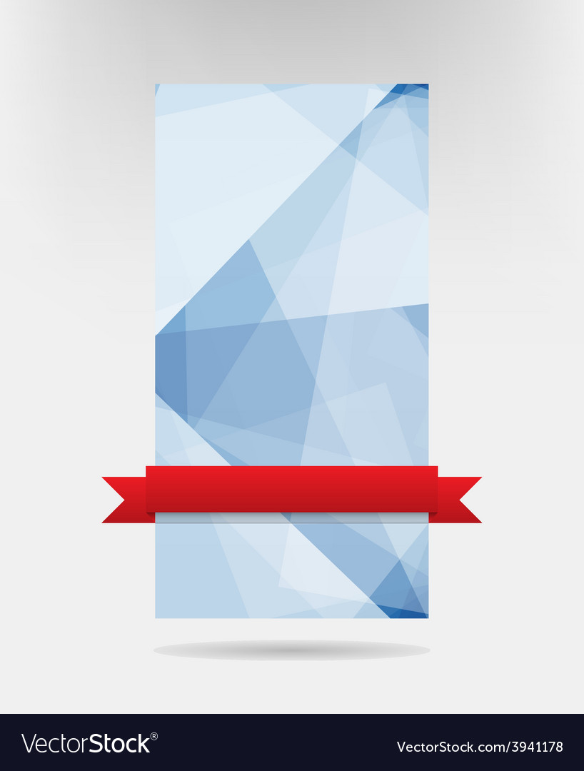 Abstract blue card design eps10 vector