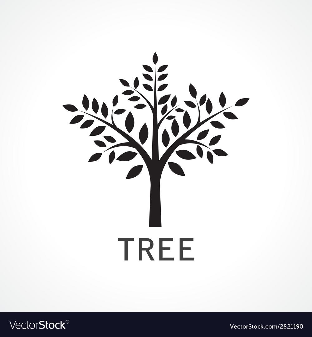 Symbol of tree vector