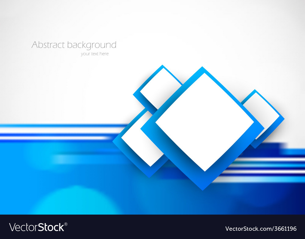 Blue soft background vector
