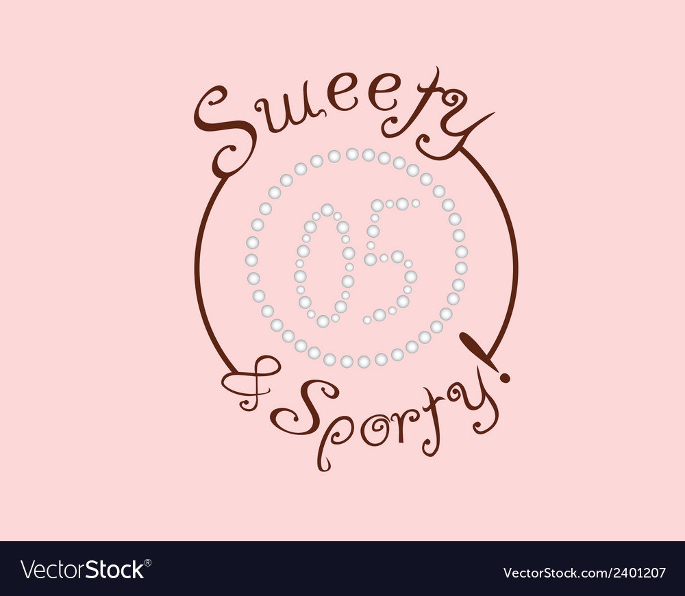 Sporty background vector