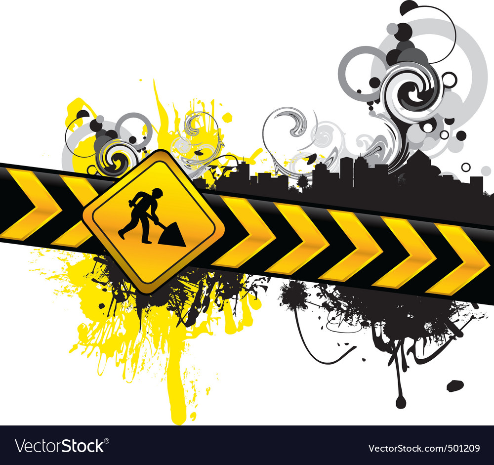 Digging background vector