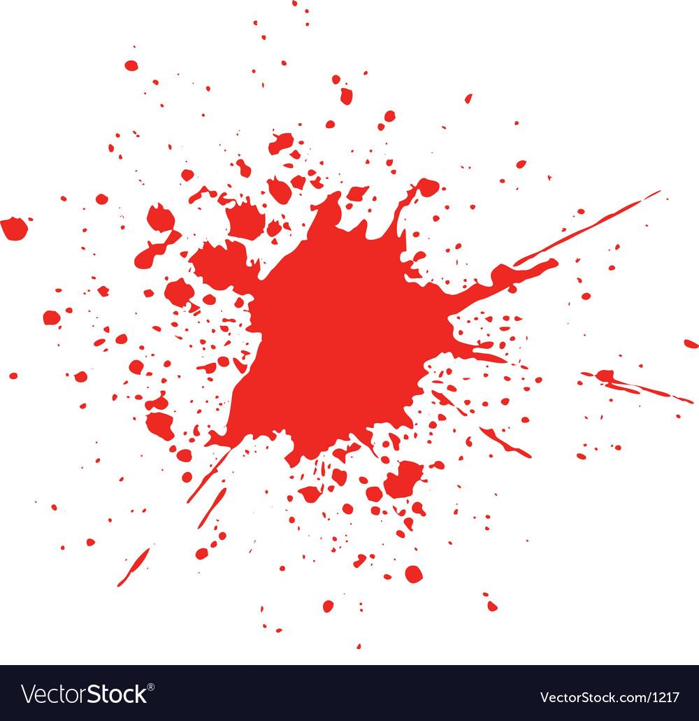 Blood splat vector