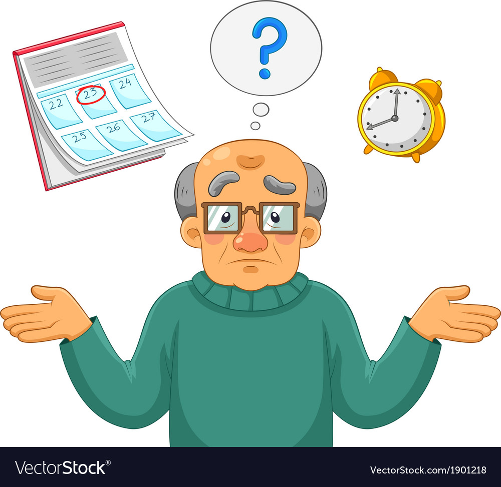 Memory problems vector