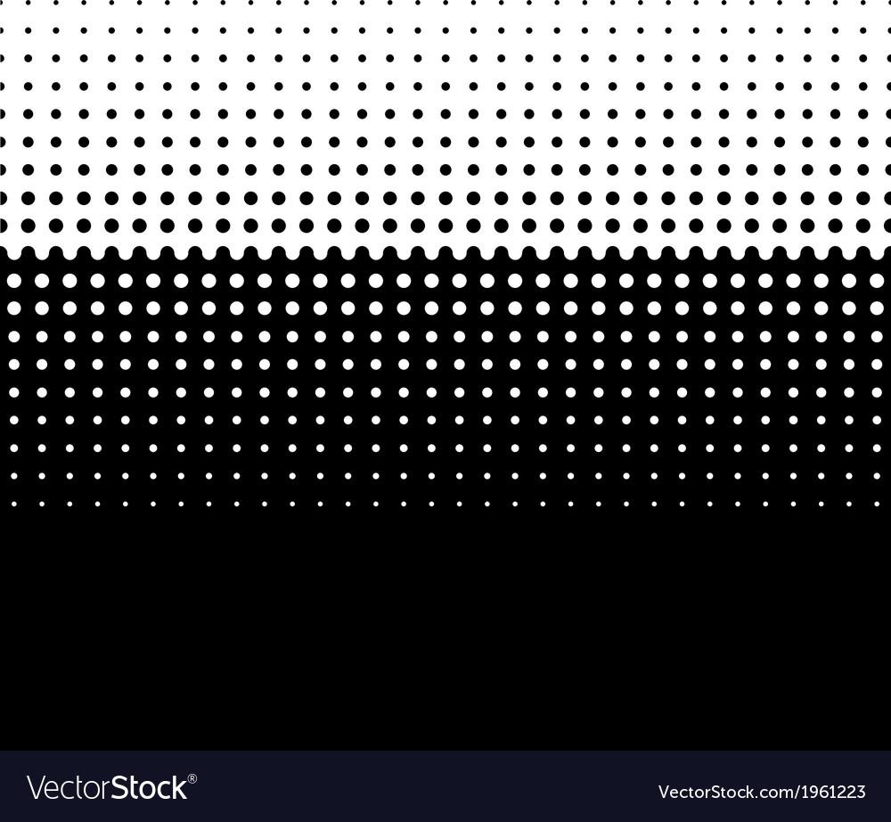 Halftone screen gradation vector